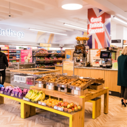 Sainsbury's debuts first 'On the Go' store in London's Square Mile to cater for busy workers