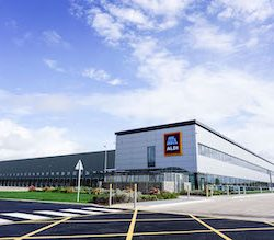 Aldi opens £64m distribution centre in East Midlands