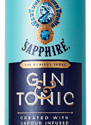 BOMBAY SAPPHIRE announces the launch of BOMBAY SAPPHIRE & TONIC Ready-to-Drink (RTD)