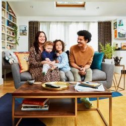 Young family with passion for colour and pattern star in Dunelm's campaign