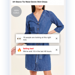 New independent research case study details effective digital customer experience using social proof messaging at Matalan