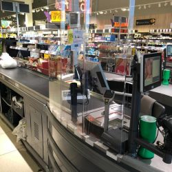 Lidl to install checkout protection screens in all stores