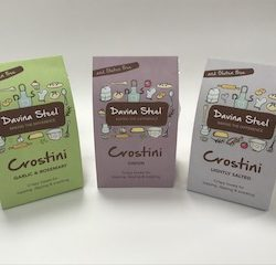 Davina Steel launches gluten free snack range