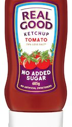 Real Good Ketchup launches new Big Squeezy into Ocado