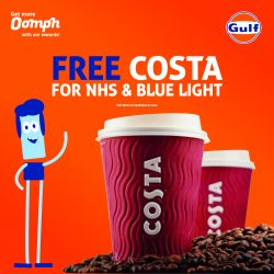 Free hot drinks for NHS and emergency service workers at Certas Energy forecourts