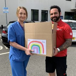 Over 60,000 donations delivered to NHS hospitals – thanks to Nurse Nikitta