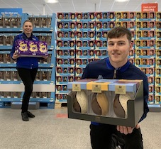 Aldi donates almost half a million Easter eggs to charities across the UK
