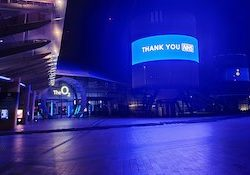 The O2 arena to open as NHS training facility