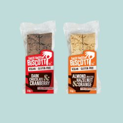 Great British Biscotti Co., ushers in compostable packaging and plant-based recipe