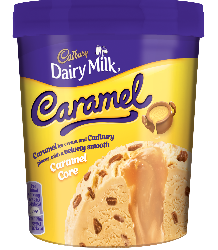 Froneri launches Cadbury Caramel Tub