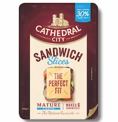 Cathedral City announces launch of Sandwich Slices