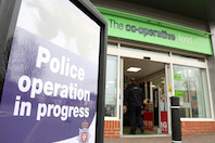 Co-op warns criminals it is 'not worth the risk' targeting its stores during this uncertain time