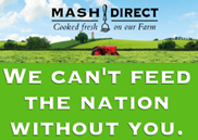 Mash Direct launches 'Feed the Nation' campaign