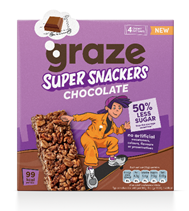 graze launches new kids' cereal bar range