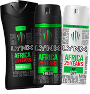 Lynx Africa celebrates 25 years with limited-edition range