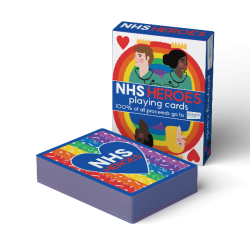 NHS Heroes Playing Cards created to help raise funds for NHS Charities Together