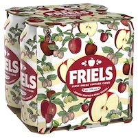 Friels refreshed – craft cider brand unveils new look