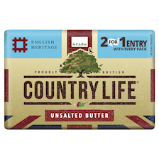 Country Life announces second year of on-pack partnership with English Heritage & Cadw