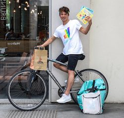 Deliveroo partners with author to offer free LGBT+ books for children