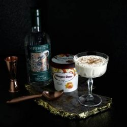 Häagen-Dazs collaborates with Sipsmith