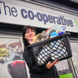 Co-op says 'thank you' to care home staff with donation of 1,000 packages to lift their spirits ​