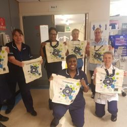 Central England Co-op supports lifesaving nurses in Birmingham with donation of washable bags