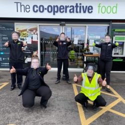 Co-op rolls out visors for staff to keep them safe while serving the community