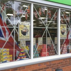 Erdington Central England Co-op puts on special display to mark 75th anniversary of VE Day
