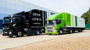 John Lewis Partnership steps up net zero carbon commitment in transport fleet