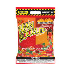 Jelly Belly presents BeanBoozled Flaming Five Challenge with spicy hot new flavours