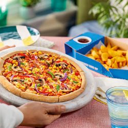 Domino's trials new fresh hand-stretched vegan dough