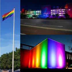 Kellogg's factories light up in celebration of LGBTQ+ Pride