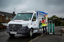 Tesco.com teams up again with Mercedes-Benz Vans as home delivery records continue to tumble