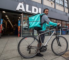 Aldi doubles the size of its Deliveroo trial with 11 new stores