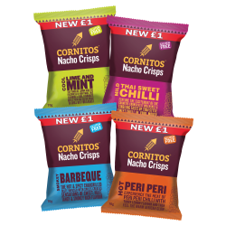 New natural nacho crisps brand Cornitos expands into Scotland and Wales
