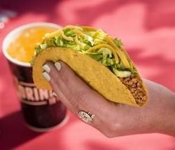 Taco Bell to give away free tacos every Tuesday in August