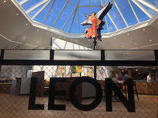 LEON  announces opening of four new restaurants at motorway service stations