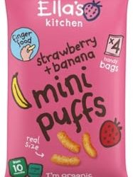 Ella's Kitchen adds five new products to its Finger Foods range