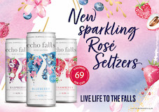 Echo Falls launches first Rosé Seltzers with botanical twist