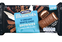 Pladis introduces McVitie's Moments Brownies