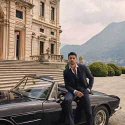 Actor and singer Michele Morrone stars in GUESS autumn/winter 2020 global holiday ad campaign