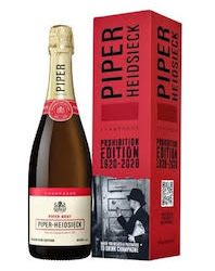 Piper-Heidsieck Champagne  launches limited-edition prohibition bottle