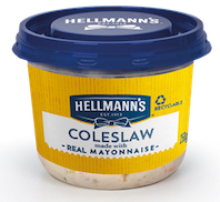 Hellmann's Coleslaw, brand's first-ever licenced product, launches in UK