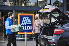 Aldi trials click-and-collect with colleagues in Midlands but plans to extend to customers in coming weeks