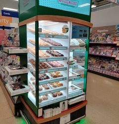 Krispy Kreme's digital cabinets roll out to a further 140 Tesco stores