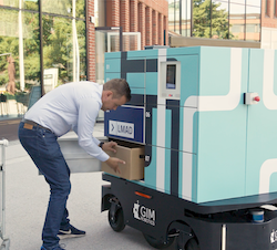 LMAD operates last-mile autonomous delivery robot at Aalto Campus in Finland