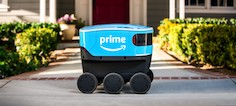 Amazon builds team to develop autonomous delivery technology, Amazon Scout, in the UK