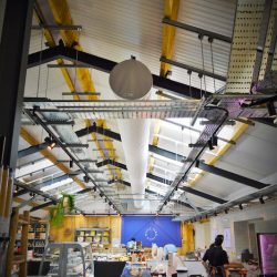 Why it works: fabric ducting in retail applications