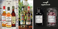 Nusa Cana, Applewood Gin and West Cork Irish Whiskey are unveiled as first portfolio brands for new drinks company Ten Locks