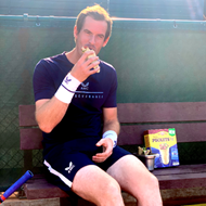 Andy Murray takes up Old El Paso's #Messfreechallenge